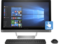 "HP Pavilion 24-b003la 2.2GHz i5-6400T 23.8"" 1920 x 1080Pixel Touch screen Argento PC All-in-one"
