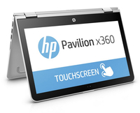 "HP Pavilion x360 13-u032tu 2.3GHz i5-6200U 13.3"" 1920 x 1080Pixel Touch screen Argento Ibrido (2 in 1)"