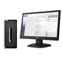 HP ProDesk 400 G3 MT + V197 + 3 years NBD onsite DT Only HW support 2.5GHz i7-6500U Microtorre Nero PC