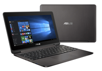 "ASUS VivoBook Flip TP201SA-FV0028D 1.6GHz N3710 11.6"" 1366 x 768Pixel Touch screen Grigio Ibrido (2 in 1) notebook/portatile"