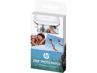 HP ZINK Sticky-backed 20 sht/2 x 3 in Lucida Bianco carta fotografica