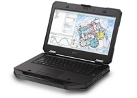 "DELL Latitude 5414 2.6GHz i7-6600U 14"" 1920 x 1080Pixel Touch screen Nero Computer portatile"