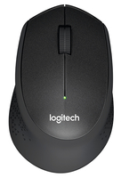 Logitech M330 SILENT PLUS RF Wireless Meccanico 1000DPI Mano destra Nero mouse