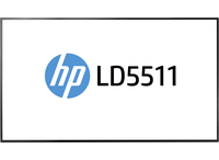 "HP LD5511 54.64"" Full HD VA Nero monitor piatto per PC"