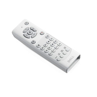 DELL 725-BBDC IR Wireless Pulsanti Bianco telecomando