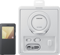 "Samsung Value Pack 5.7"" Custodia a libro Nero"