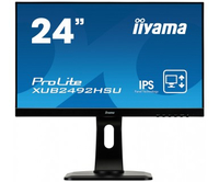 "iiyama ProLite XUB2492HSU-B1 23.8"" Full HD IPS Opaco Nero monitor piatto per PC LED display"