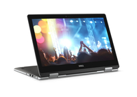 "DELL Inspiron 15 2.70GHz i7-7500U 15.6"" 1920 x 1080Pixel Touch screen Nero, Argento Ibrido (2 in 1)"
