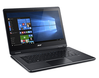 "Acer Aspire R 14 R5-471T-372G 2.3GHz i3-6100U 14"" 1920 x 1080Pixel Touch screen Nero Ibrido (2 in 1)"