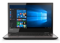 "Toshiba Satellite Radius 14 L40W-C-10N 2.4GHz i7-5500U 14"" 1366 x 768Pixel Touch screen Grigio Ibrido (2 in 1) notebook/portatile"