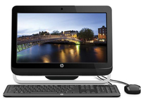 "HP Omni 120-1000br 2.6GHz G620 20"" 1600 x 900Pixel Nero PC All-in-one"