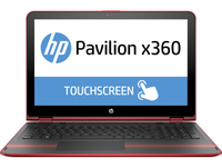 "HP Pavilion x360 15-bk027cl 2.3GHz i5-6200U 15.6"" 1920 x 1080Pixel Touch screen Rosso Ibrido (2 in 1)"
