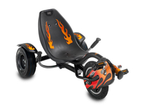 EXIT Rocker Fire Bambini Pedale Supino triciclo