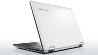 "Lenovo IdeaPad 300 1.6GHz N3050 11.6"" 1366 x 768Pixel Touch screen Bianco Ibrido (2 in 1)"