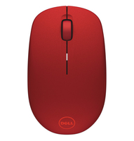 DELL WM126 RF Wireless Ottico Ambidestro Rosso mouse