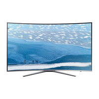 "Samsung UE65KU6500S 65"" 4K Ultra HD Smart TV Wi-Fi Argento LED TV"