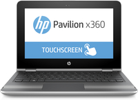 "HP Pavilion x360 13-u101nq 2.50GHz i5-7200U 13.3"" 1366 x 768Pixel Touch screen Argento Ibrido (2 in 1)"