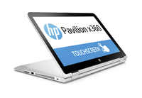 "HP Pavilion x360 15-bk100no 2.40GHz i3-7100U 15.6"" 1366 x 768Pixel Touch screen Argento Ibrido (2 in 1)"