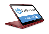 "HP Pavilion x360 15-bk100ns 2.50GHz i5-7200U 15.6"" 1920 x 1080Pixel Touch screen Rosso Ibrido (2 in 1)"
