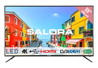 "Salora 55UHL2500 55"" 4K Ultra HD Nero LED TV"