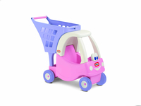 Little Tikes Cozy Coupe Shopping Cart Princess Shopping Giocattolo singolo
