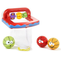 Little Tikes Little Champs Bathketball Multicolore