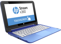 "HP Stream x360 11-aa000nx 1.6GHz N3060 11.6"" 1366 x 768Pixel Touch screen Blu Ibrido (2 in 1)"