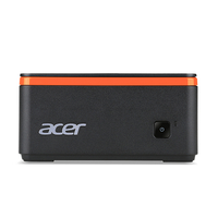 Acer Revo M1601-N12N 1.6GHz J3060 PC di dimensione 1L Nero, Arancione Mini PC