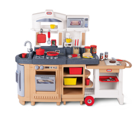Little Tikes Cook Around Kitchen & Cart Cucina e cibo Set da gioco