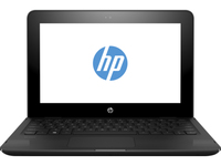 "HP Stream x360 11-aa001nv 1.6GHz N3060 11.6"" 1366 x 768Pixel Touch screen Nero Ibrido (2 in 1)"