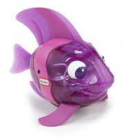 Little Tikes Sparkle Bay Flicker Fish Angel Fish Animale per vasca Porpora