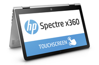 "HP Spectre x360 15-ap004nf 2.3GHz i5-6200U 15.6"" 3840 x 2160Pixel Touch screen Argento Ibrido (2 in 1)"