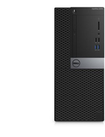 DELL OptiPlex 3046 3.7GHz i3-6100 Mini Tower Nero, Argento PC