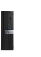 DELL OptiPlex 3046 3.7GHz i3-6100 SFF Nero, Argento PC