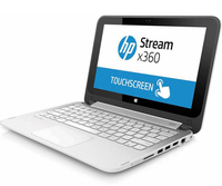 "HP Stream x360 11-aa010nd 1.6GHz N3060 11.6"" 1366 x 768Pixel Touch screen Bianco Ibrido (2 in 1)"