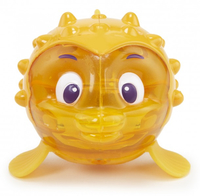 Little Tikes Sparkle Bay Flicker Fish - Puffer Fish Animale per vasca Giallo