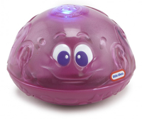 Little Tikes Sparkle Bay Splash Fountain Octopus Giocattolo a spruzzo per vasca Porpora