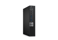 DELL OptiPlex 3046 2.5GHz i5-6500T Microtorre Nero, Argento Mini PC