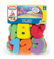 Little Tikes Bath Letters and Numbers Multicolore