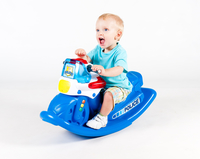 Little Tikes Police Cycle Sounds Rocker giocattolo a dondolo