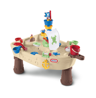 Little Tikes Anchors Away Pirate Ship Tavolo per acqua