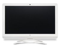 "HP 20-c010il 1.6GHz J3710 19.5"" 1920 x 1080Pixel Argento, Bianco PC All-in-one"