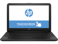 "HP 15-ba020ca 2GHz A6-7310 15.6"" 1366 x 768Pixel Touch screen Nero Computer portatile"