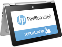 "HP Pavilion x360 11-k117cl 0.9GHz m3-6Y30 11.6"" 1366 x 768Pixel Touch screen Argento Ibrido (2 in 1)"