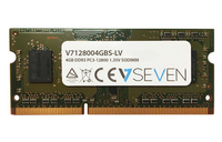 V7 4GB DDR3 PC3-12800 - 1600mhz SO DIMM Notebook Módulo de memoria - V7128004GBS-LV