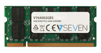 V7 2GB DDR2 PC2-6400 800Mhz SO DIMM Notebook Módulo de memoria - V764002GBS