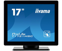 "iiyama ProLite T1721MSC-B1 17"" 1280 x 1024Pixel Multi-touch Da tavolo Nero monitor touch screen"