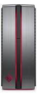 HP OMEN 870-131no 2.7GHz i5-6400 Scrivania Nero, Grigio PC