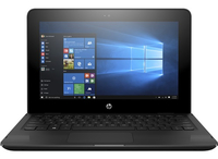 "HP x360 11-ab008TU 1.6GHz N3060 11.6"" 1366 x 768Pixel Touch screen Nero Ibrido (2 in 1)"