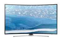 "Samsung UE65KU6100K 65"" 4K Ultra HD Smart TV Wi-Fi Nero, Argento LED TV"